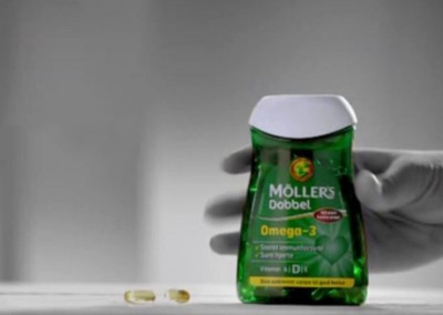 møllers tran reklame