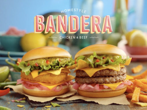 McDonalds Bandera 30s